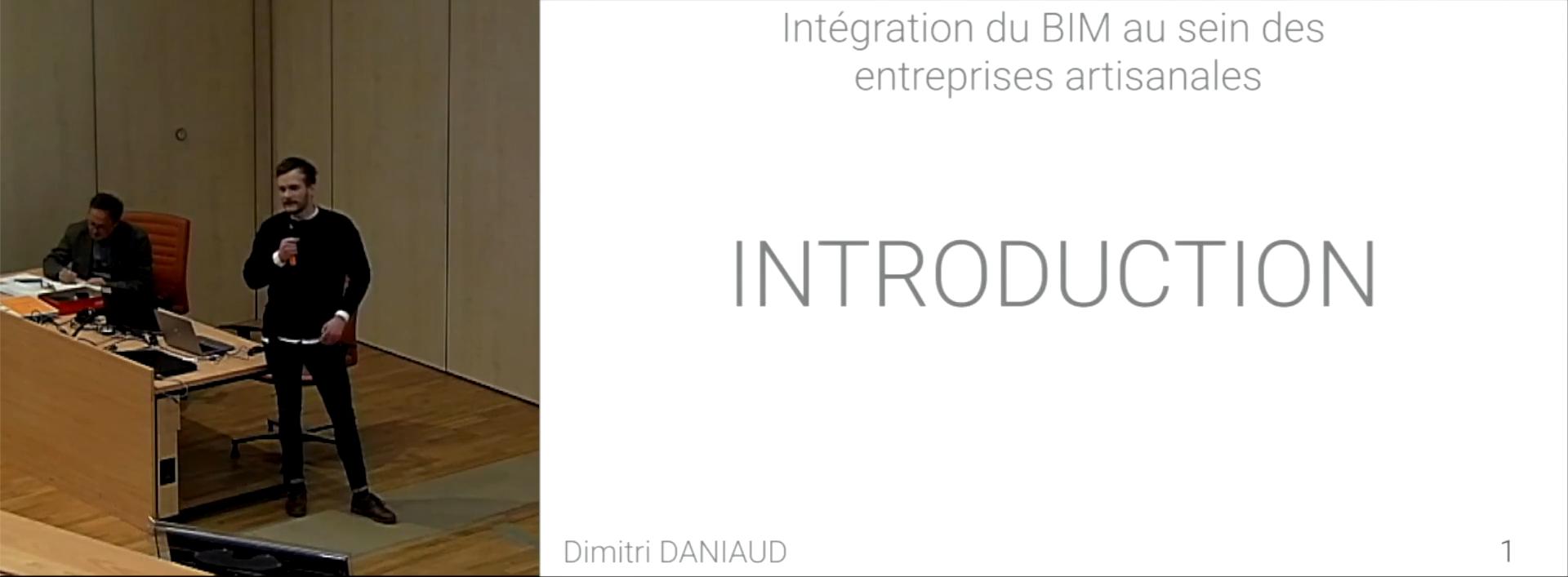 Intégration du BIM au sein des entreprises artisanales