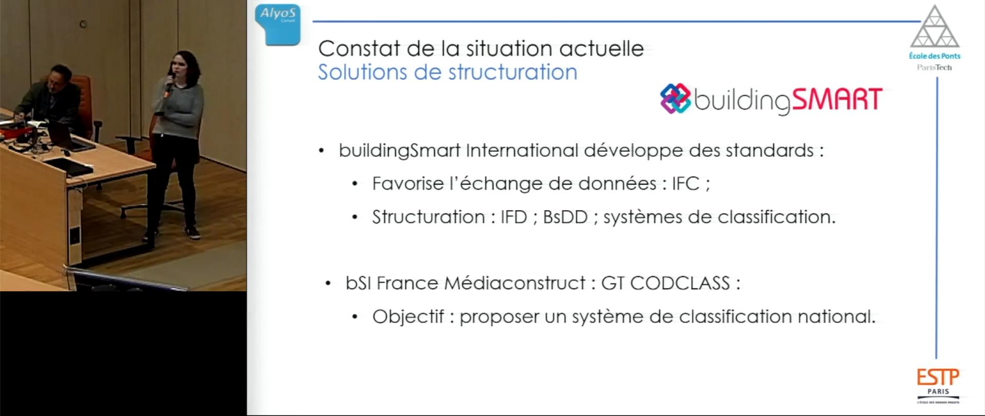 Structuration et pérennisation des données au sein de la maquette numérique