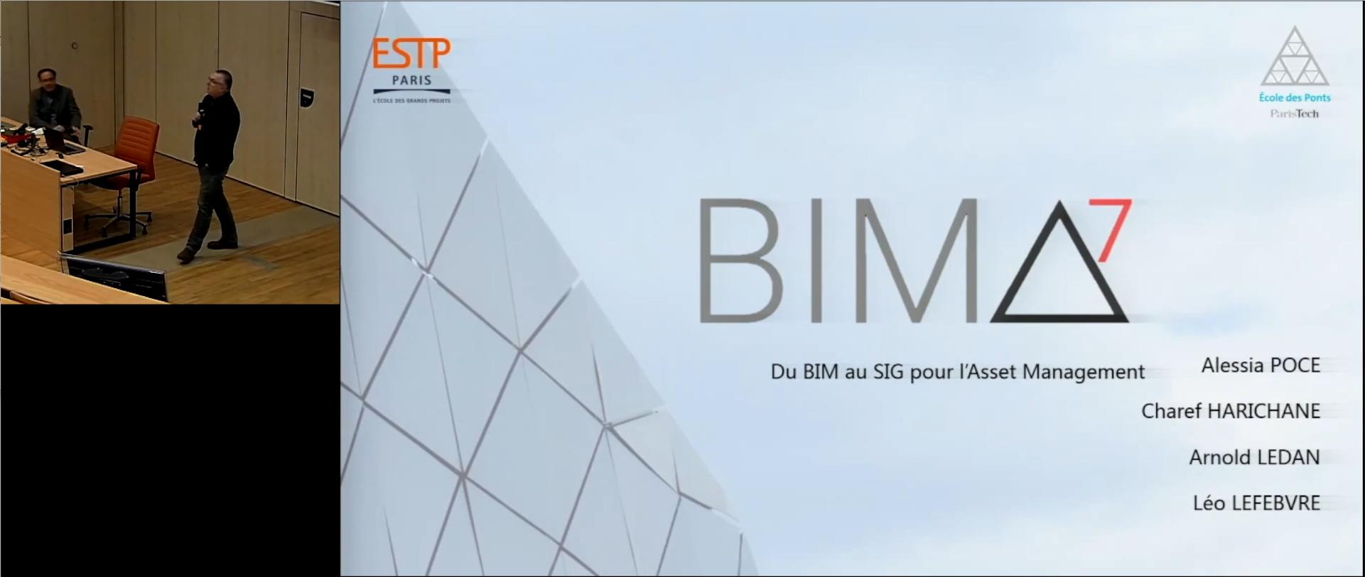 Du BIM au SIG pour l'asset management
