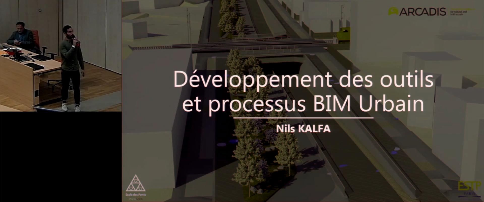 Développement des outils et processus BIM urbains