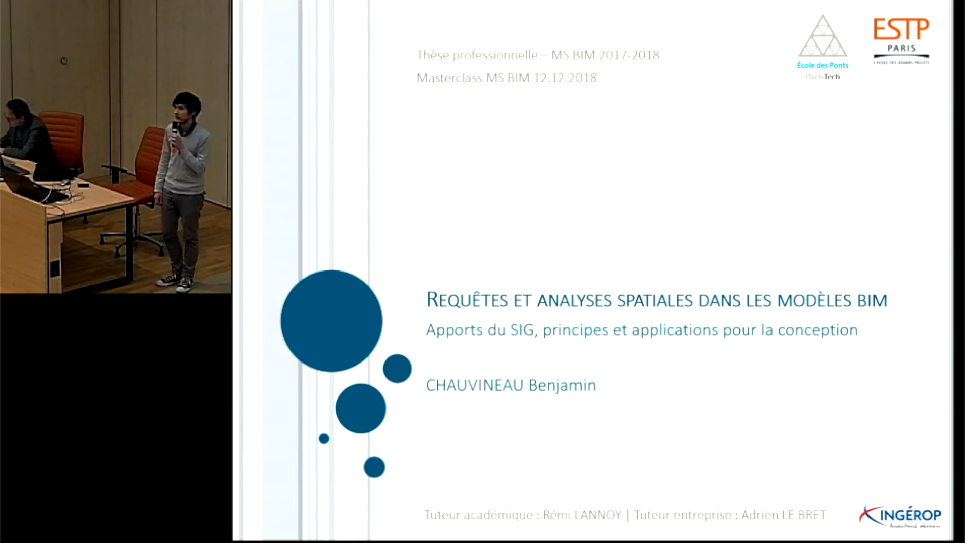 Requêtes et analyse spatiale dans les modèles BIM