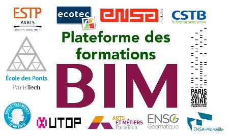 Logo Plateforme des formations BIM