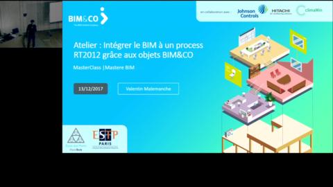 Intégrer le BIM à un process RT2012 grace aux objets BIM&CO
